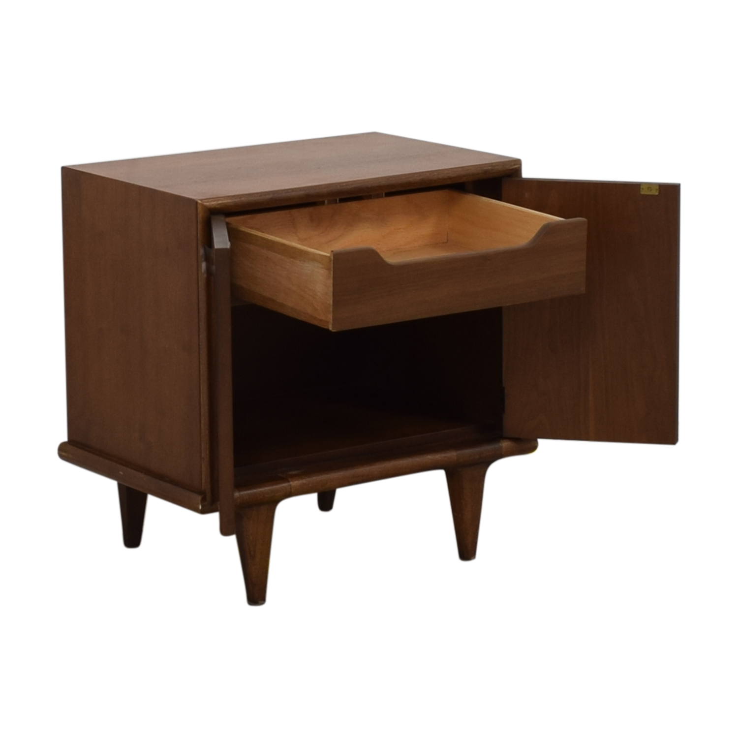 buy American of Martinsville Mid Century Modern Side Table American of Martinsville