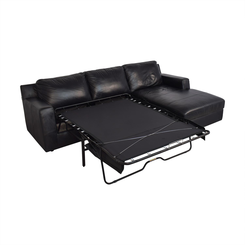 56% OFF - J&M Furniture J&M Furniture Elizabeth Sleeper Sectional Sofa /  Sofas