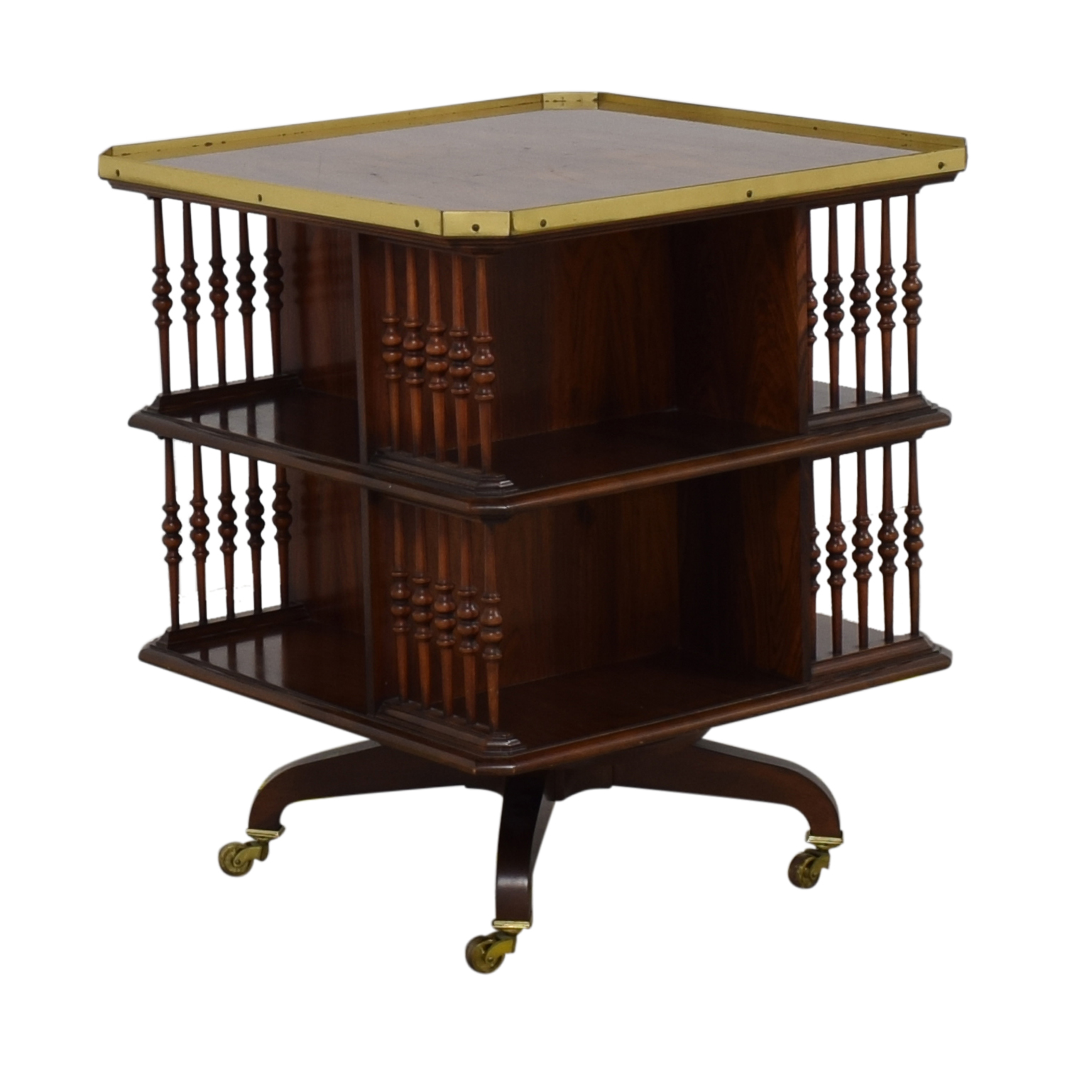 buy Baker Furniture Baker Furniture Swiveling Library Table online