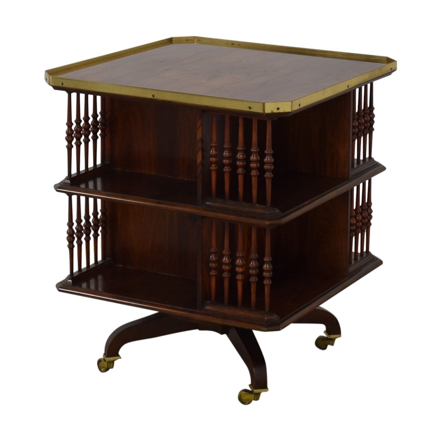 Baker Furniture Baker Furniture Swiveling Library Table coupon
