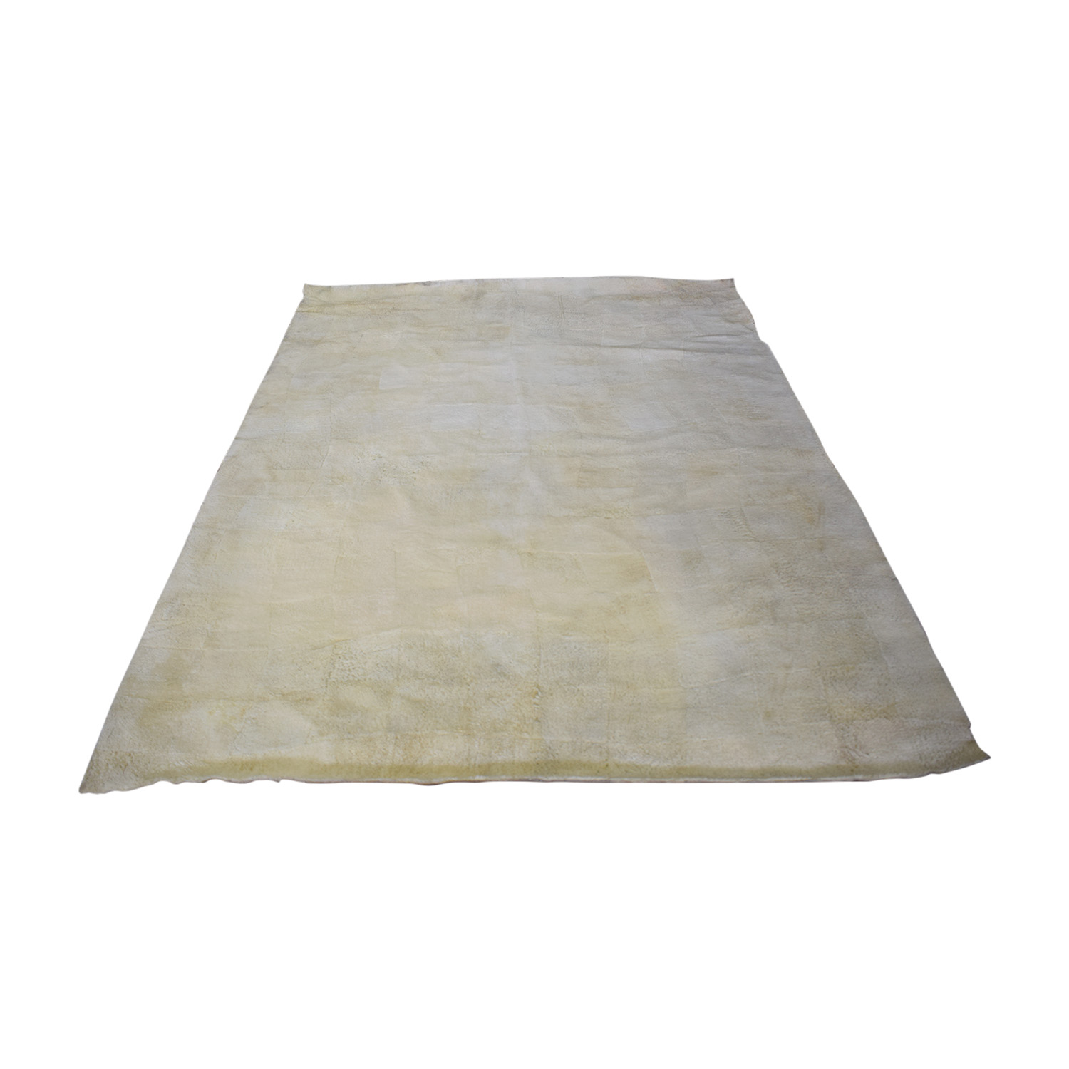 Hanssem Hanssem Lambs Wool Rug off white