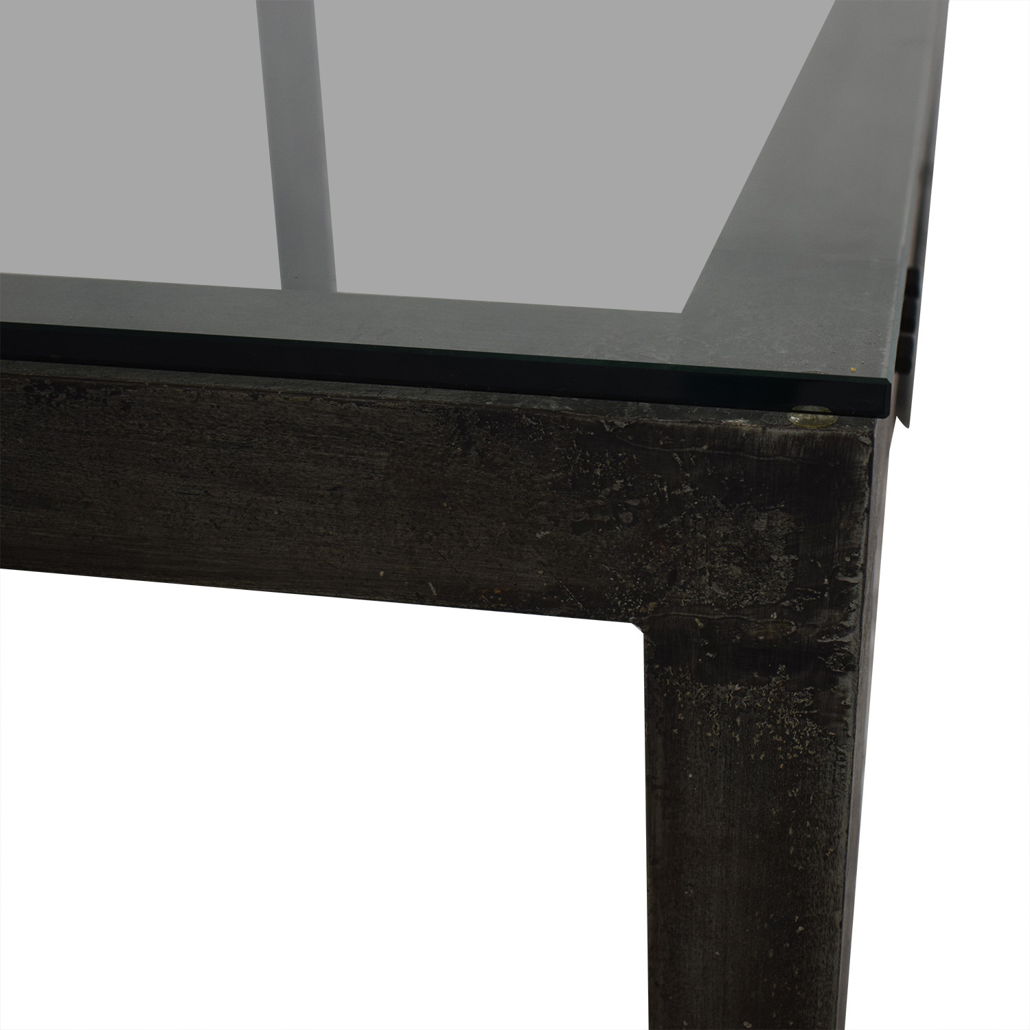 Crate & Barrel Industrial Dining Table / Tables