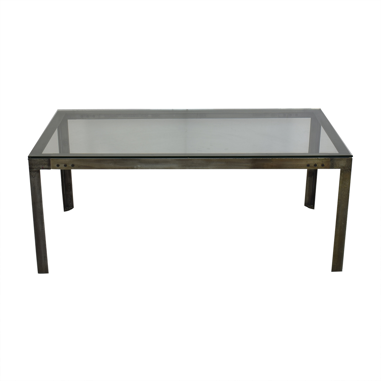 shop Crate & Barrel Crate & Barrel Industrial Dining Table online