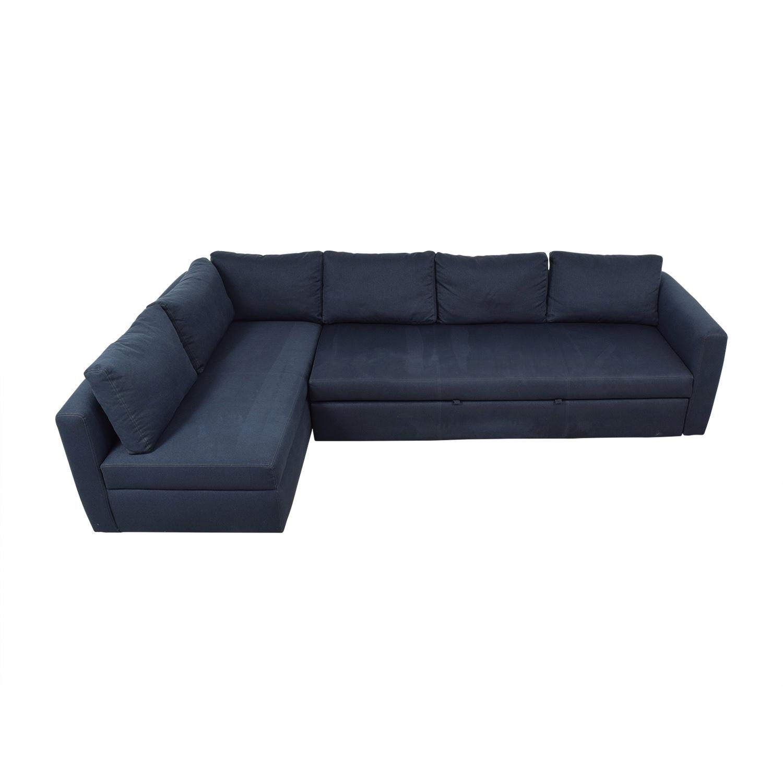 63% OFF - Room & Board Room & Board Sectional Sleeper Sofa / Sofas