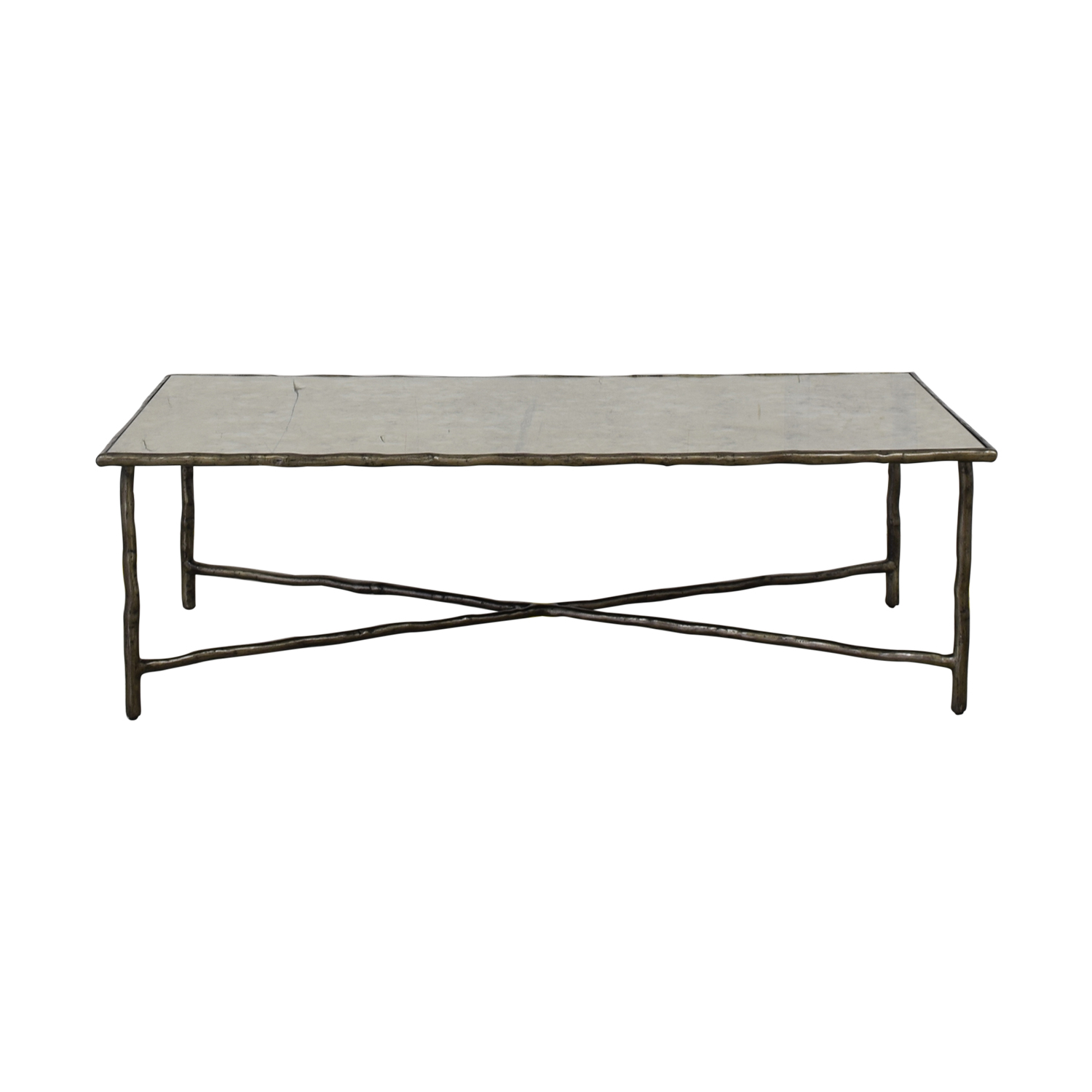 buy Carlyle Mirror Top Coffee Table Carlyle Coffee Tables