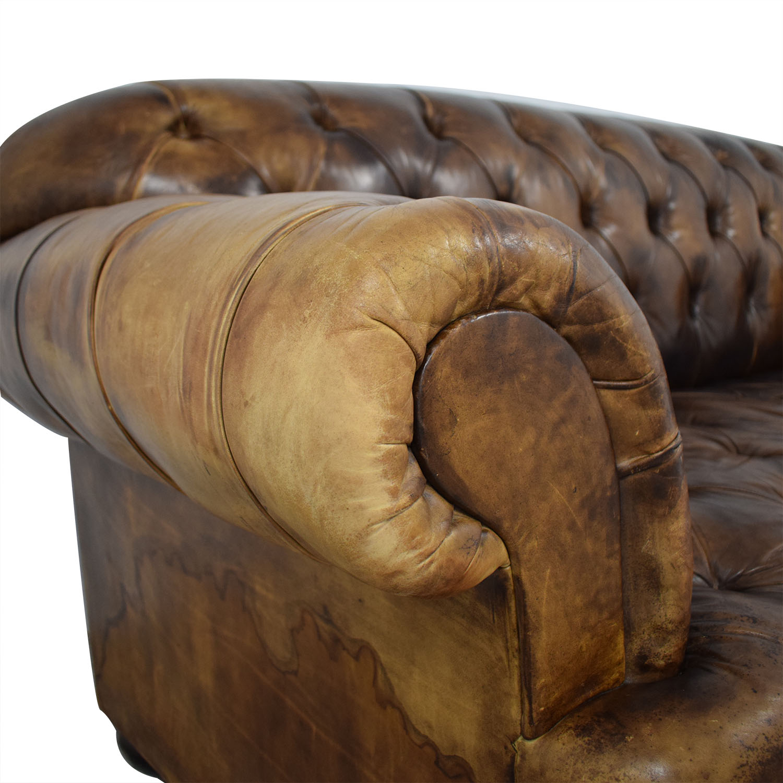 Terrific 70 Off George Smith George Smith Vintage Leather Couch Sofas Creativecarmelina Interior Chair Design Creativecarmelinacom