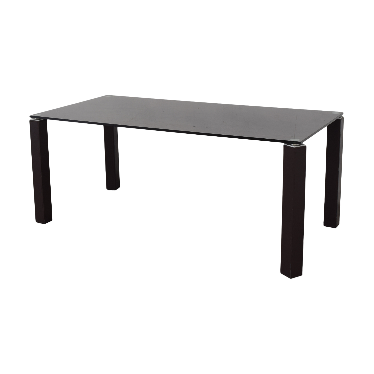 buy Maurice Villency Maurice Villency Glass Dining Table online