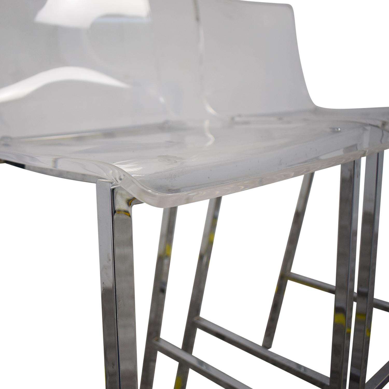 CB2 CB2 Vapor Acryllic Bar Stools nj
