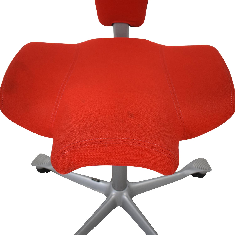 Outstanding 79 Off Hag Hag Capisco Office Chair Chairs Machost Co Dining Chair Design Ideas Machostcouk