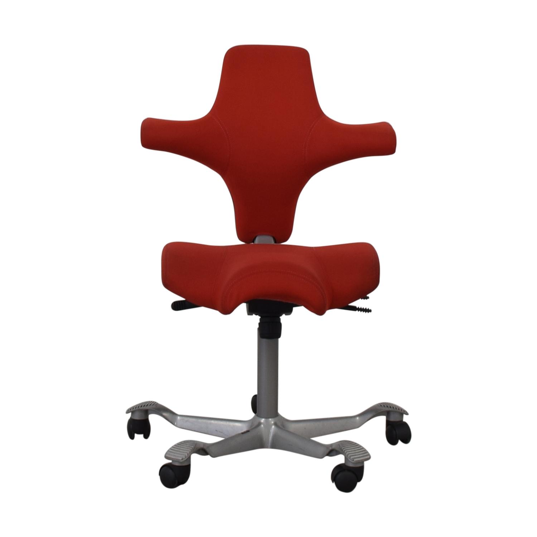 HAG HÅG Capisco Office Chair Red