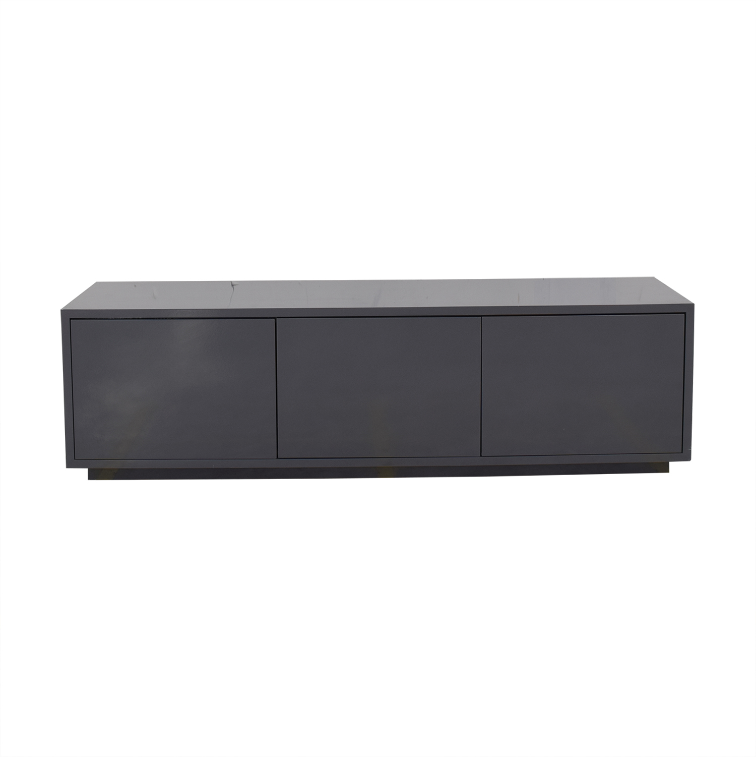 buy Raymour & Flanigan Triple Cabinet Credenza Raymour & Flanigan