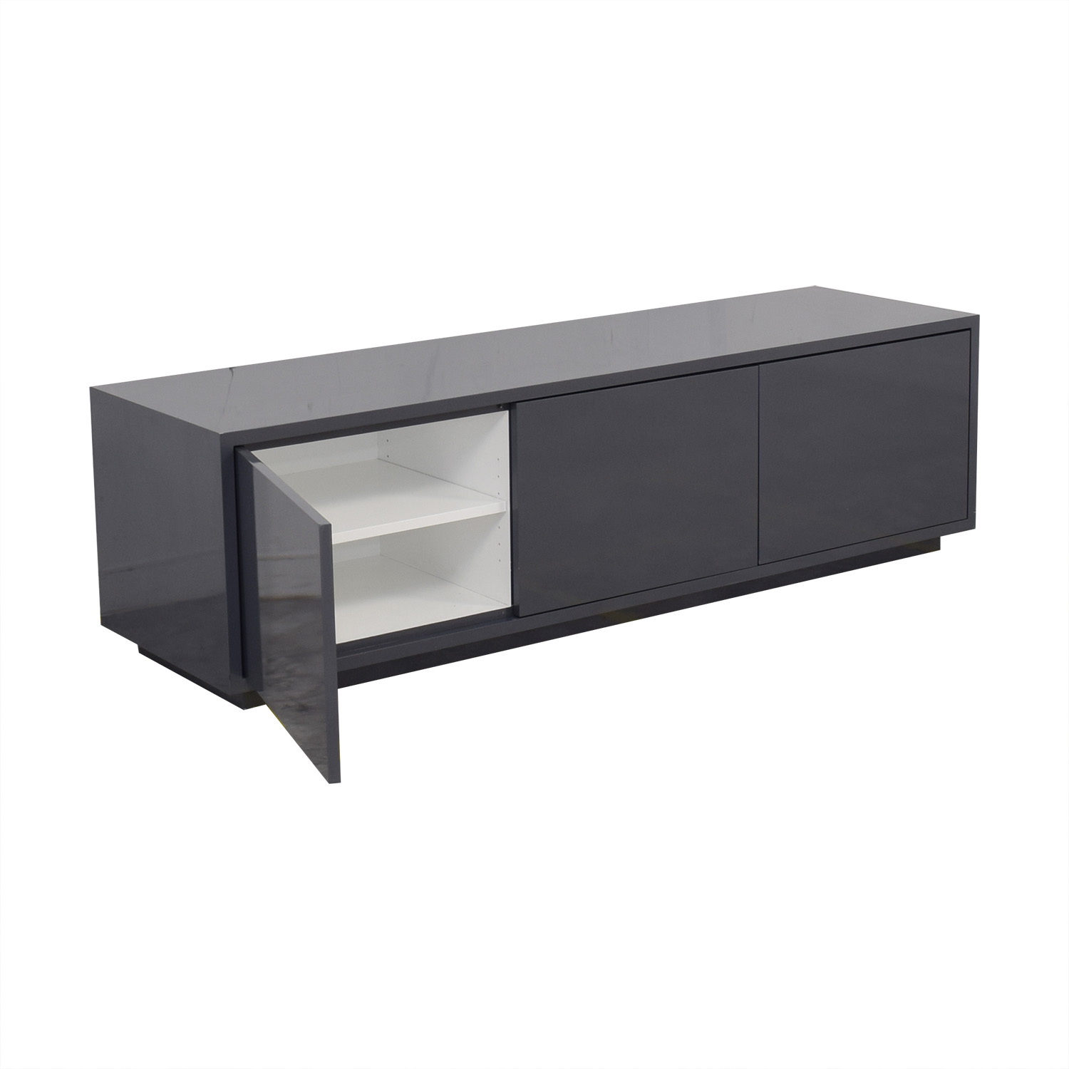 Raymour & Flanigan Raymour & Flanigan Triple Cabinet Credenza on sale