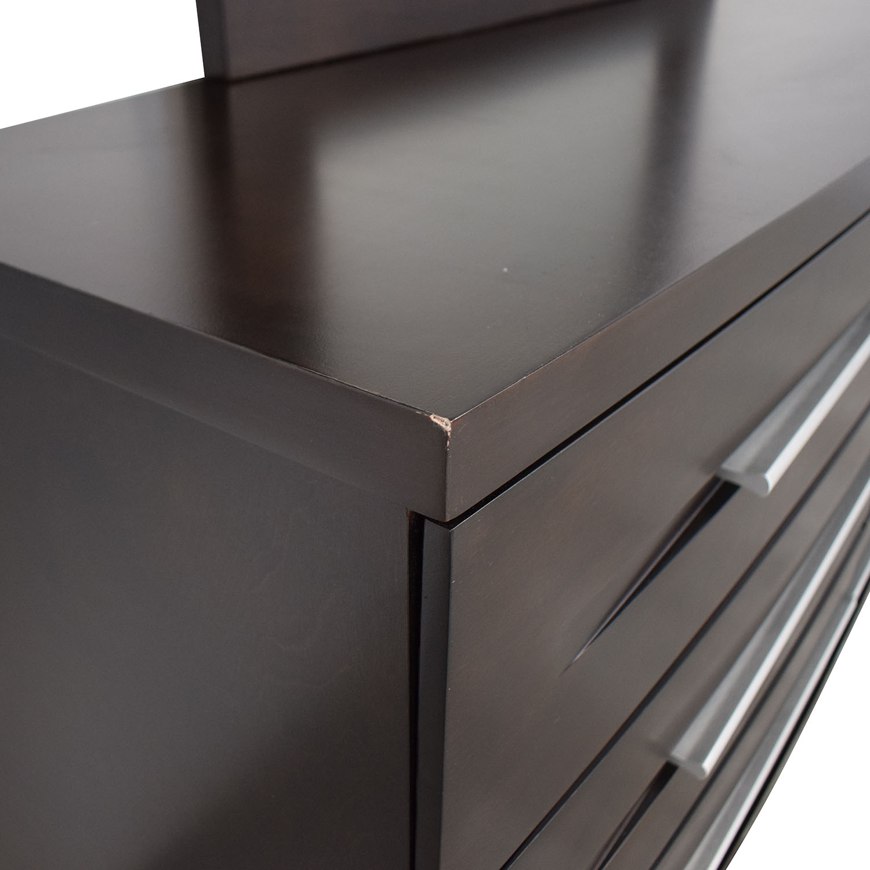 shop Casana Furniture Dresser with Mirror Casana Furniture Storage