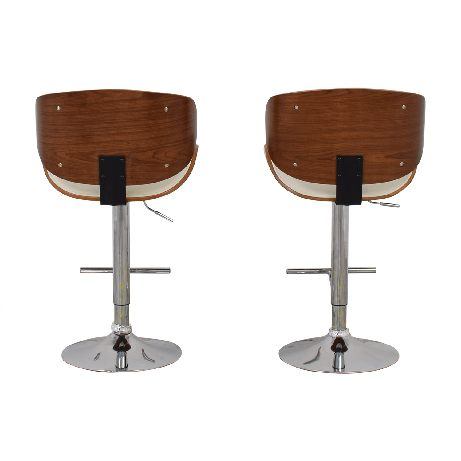 shop Raymour & Flanigan Swivel Bar Stools Raymour & Flanigan Stools
