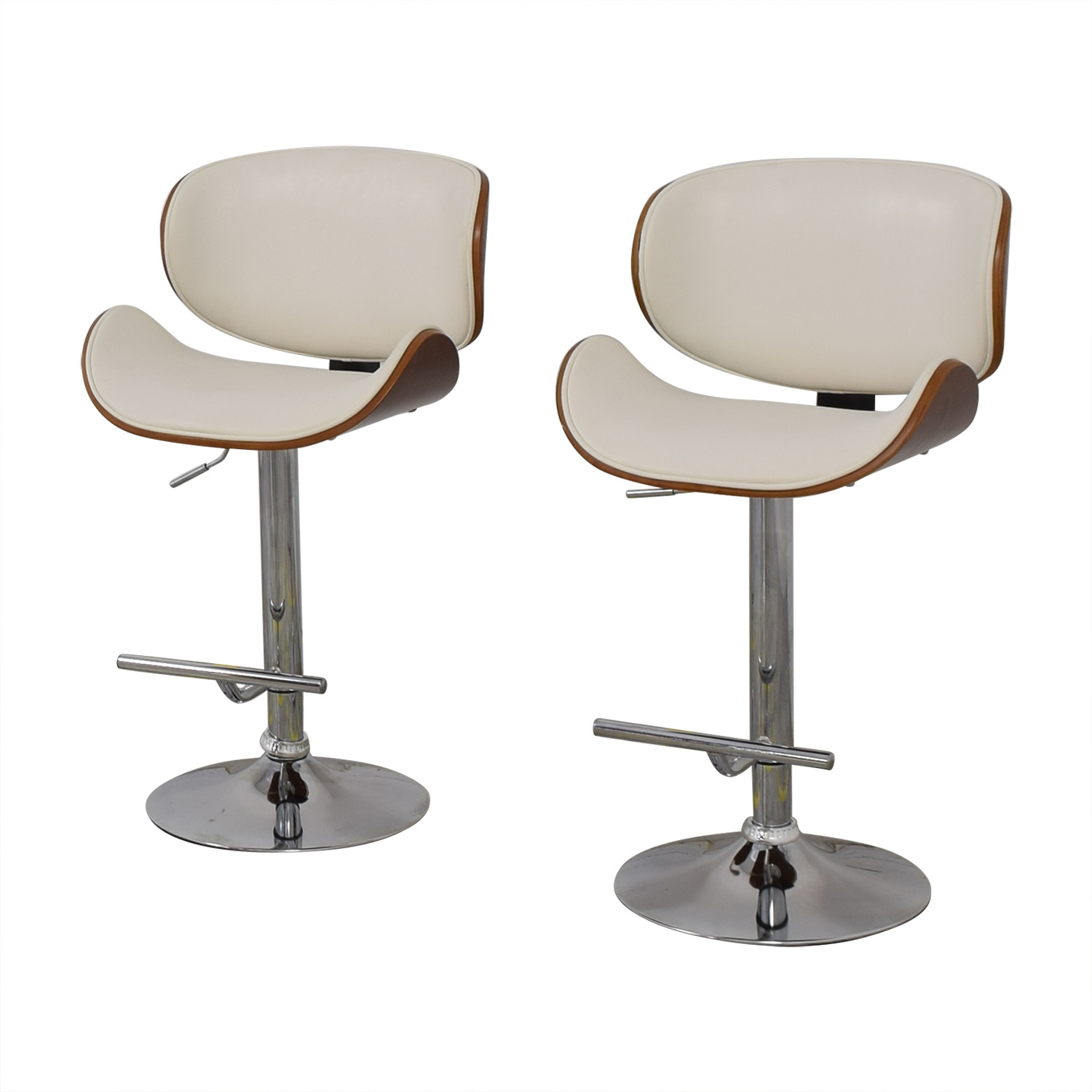 Raymour & Flanigan Raymour & Flanigan Swivel Bar Stools price