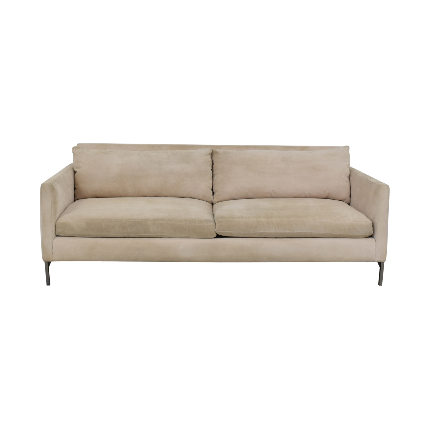 shop ABC Carpet & Home Cobble Hill Nolita Beige Sofa ABC Carpet & Home
