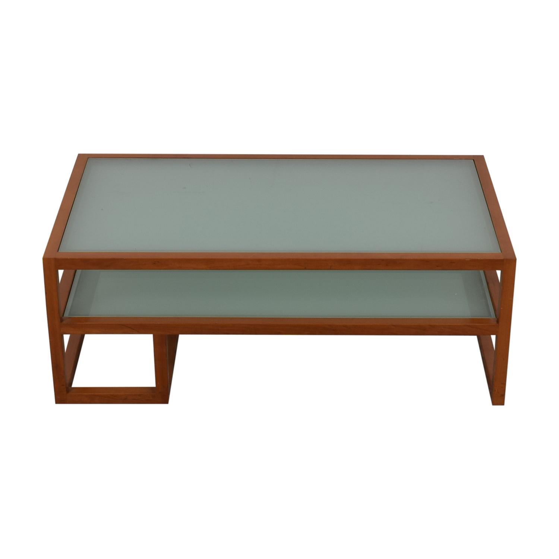 buy  Custom Two Tier Coffee Table online