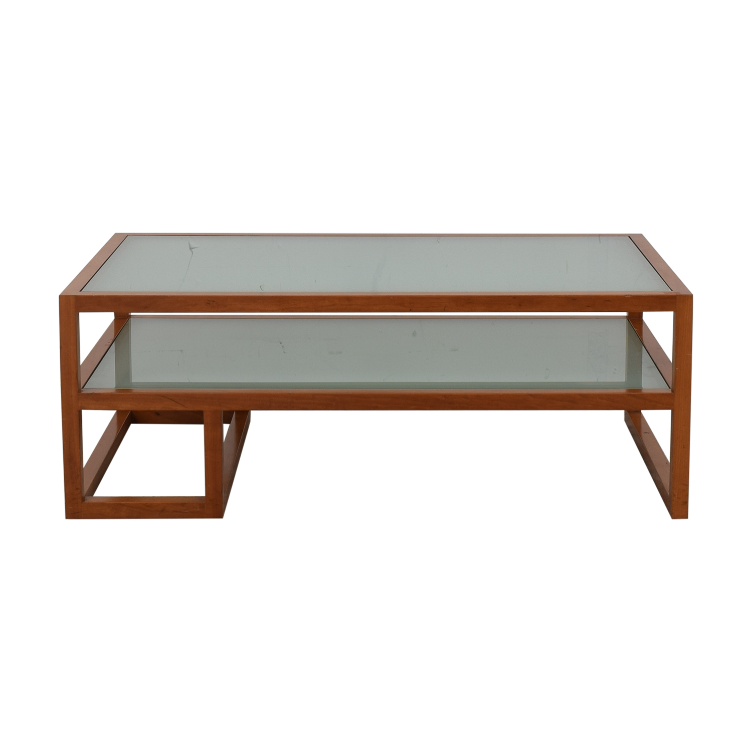 Custom Two Tier Coffee Table / Tables
