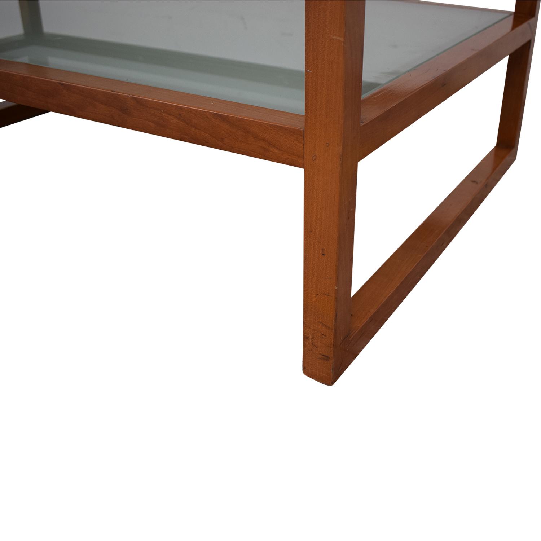 Custom Two Tier Coffee Table used