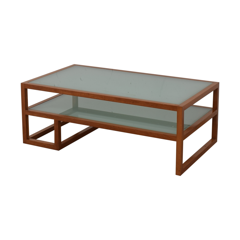 Custom Two Tier Coffee Table dimensions