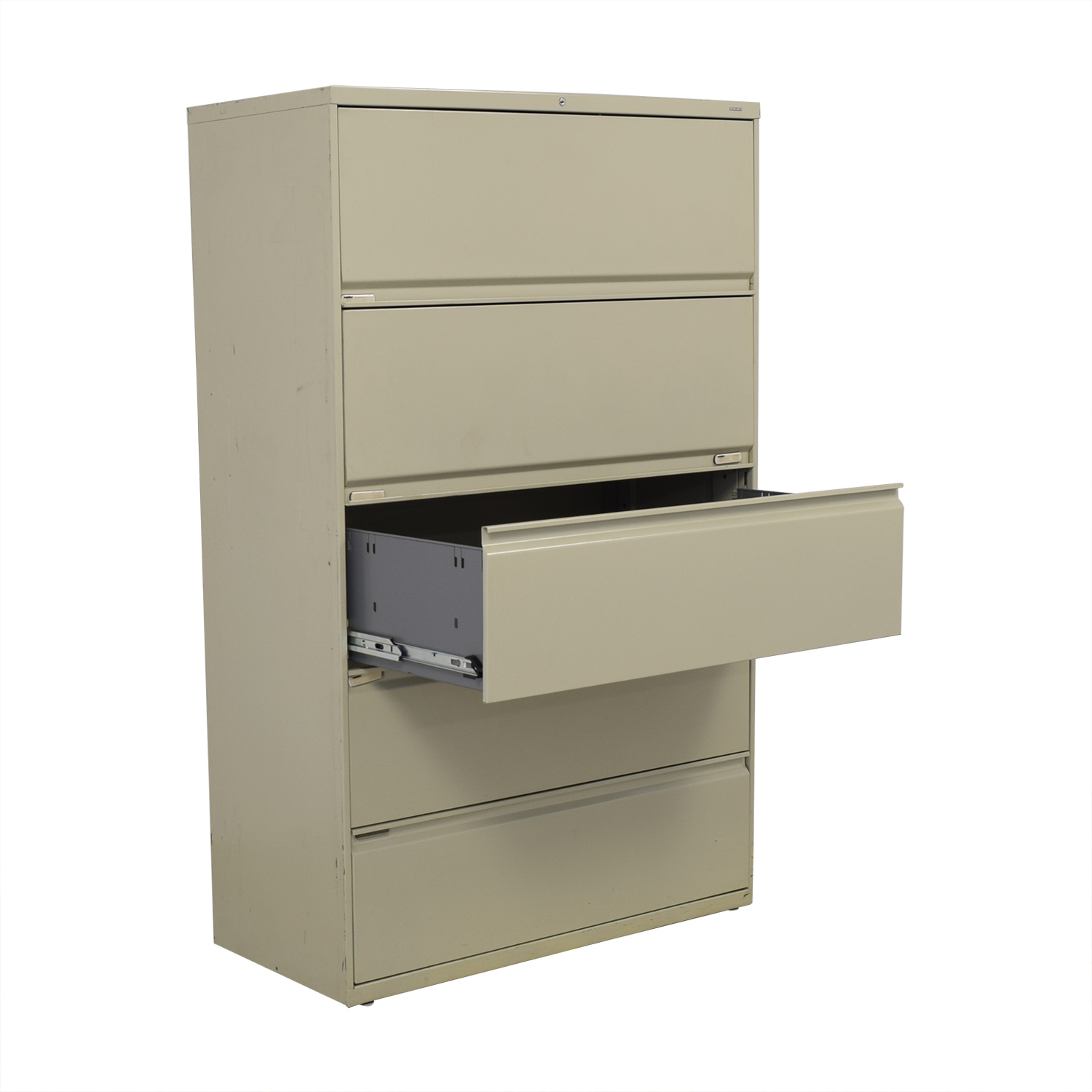 Hon Hon Five Drawer Lateral File Cabinet Storage