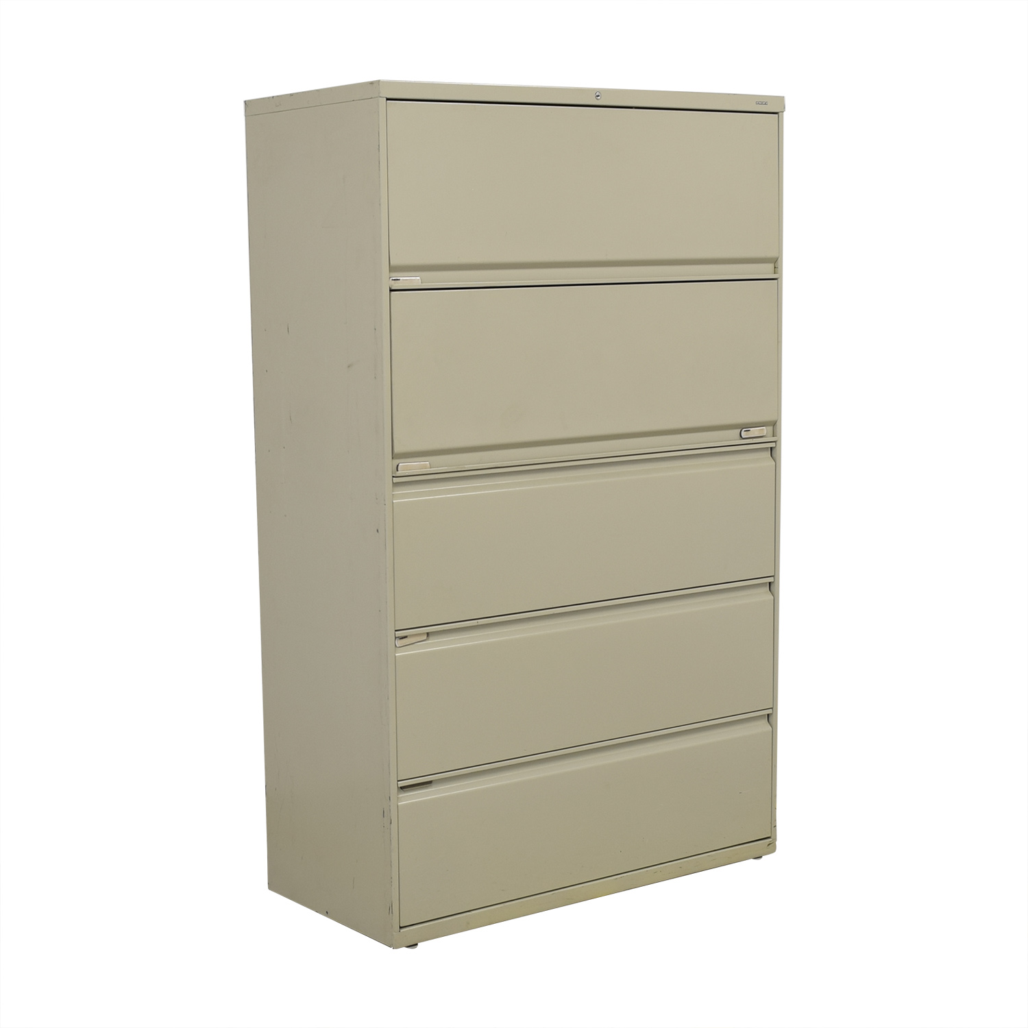 shop Hon Five Drawer Lateral File Cabinet Hon