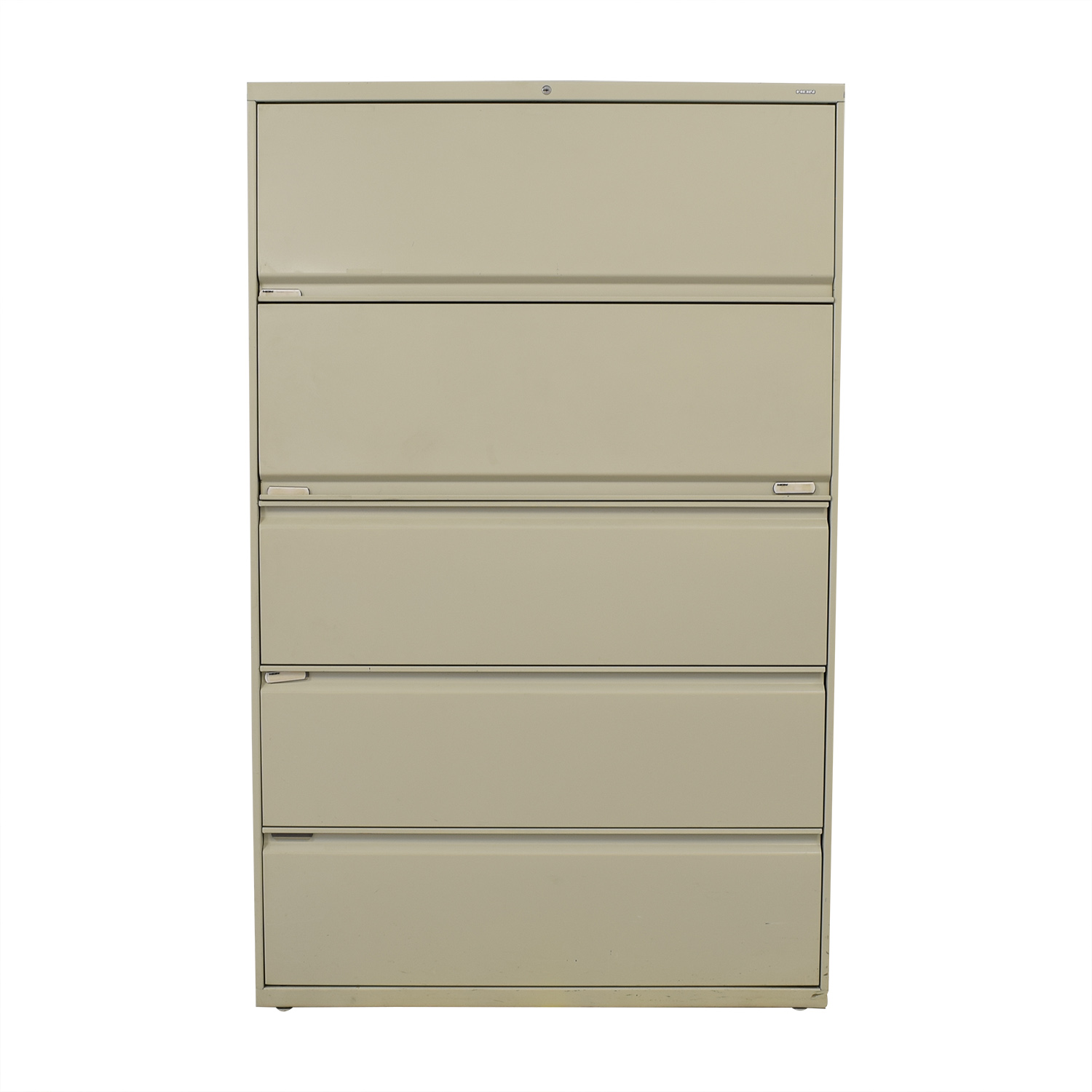 Hon Hon Five Drawer Lateral File Cabinet