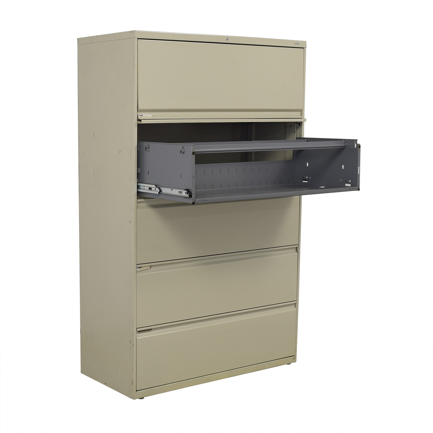 Hon Hon Five Drawer Lateral File Cabinet beige