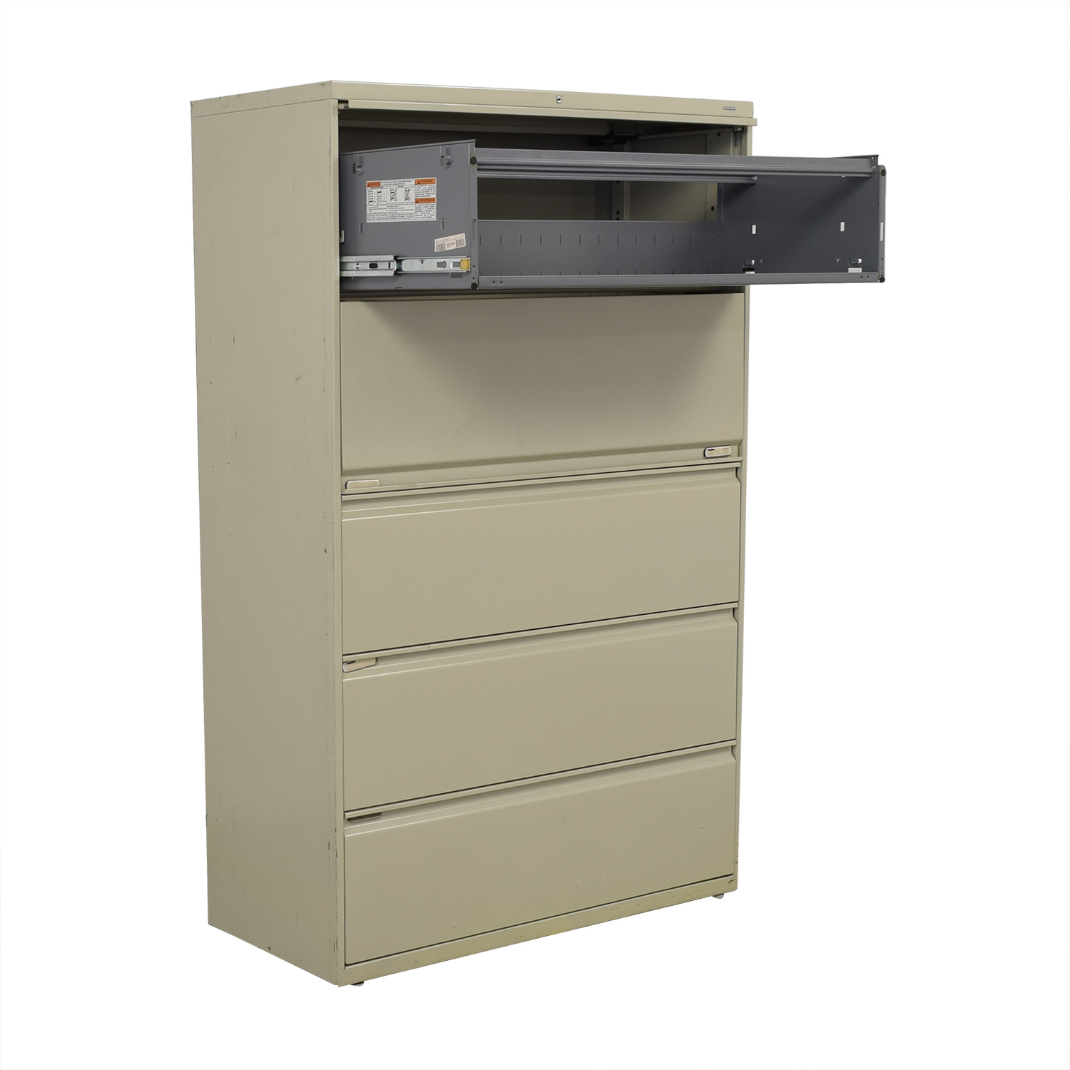 Hon Five Drawer Lateral File Cabinet / Storage