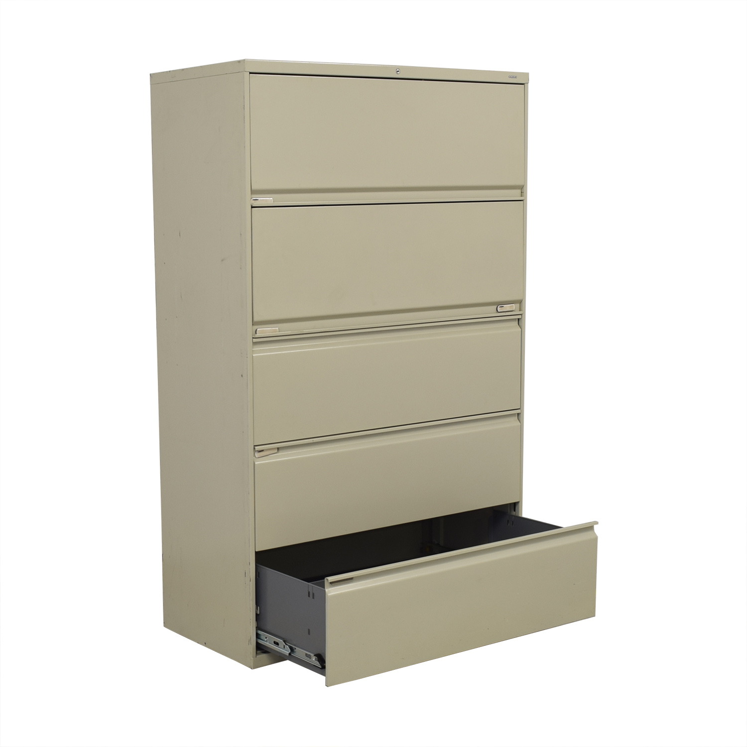 Hon Five Drawer Lateral File Cabinet Hon