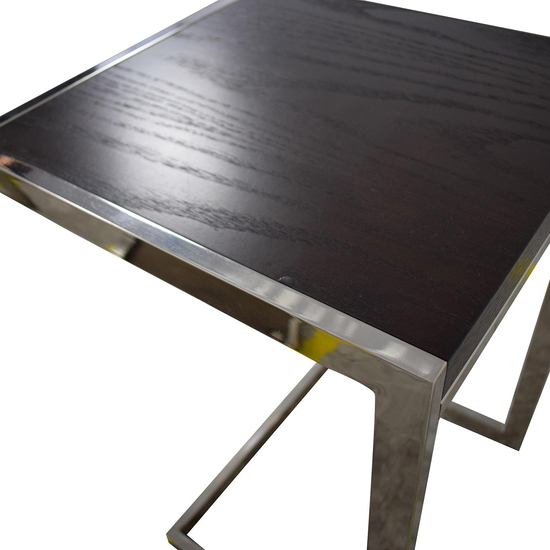 West Elm West Elm Framed Side Tables for sale