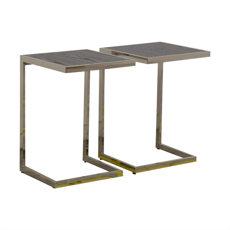 West Elm West Elm Framed Side Tables
