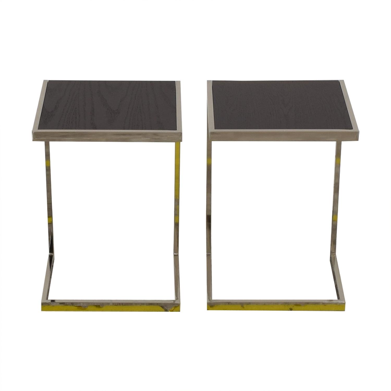 West Elm West Elm Framed Side Tables nyc
