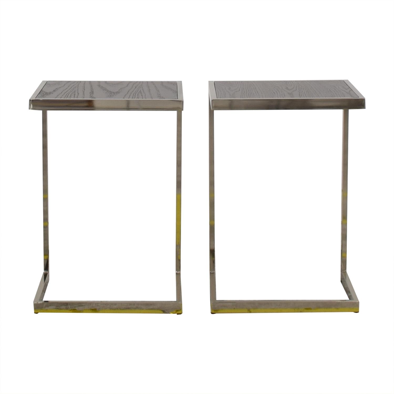 West Elm West Elm Framed Side Tables discount