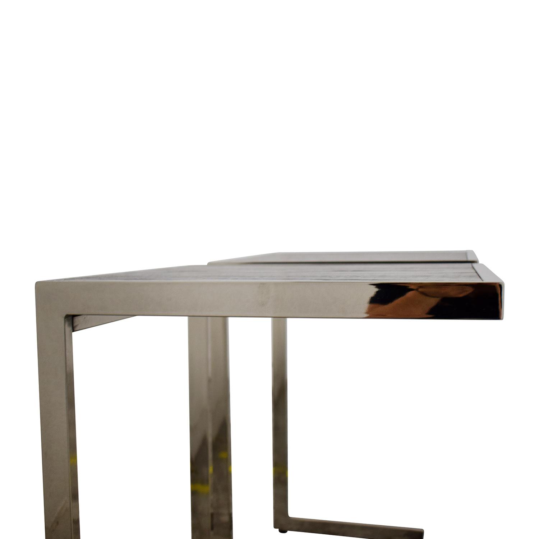 West Elm Framed Side Tables sale