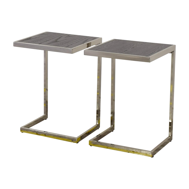 West Elm Framed Side Tables West Elm