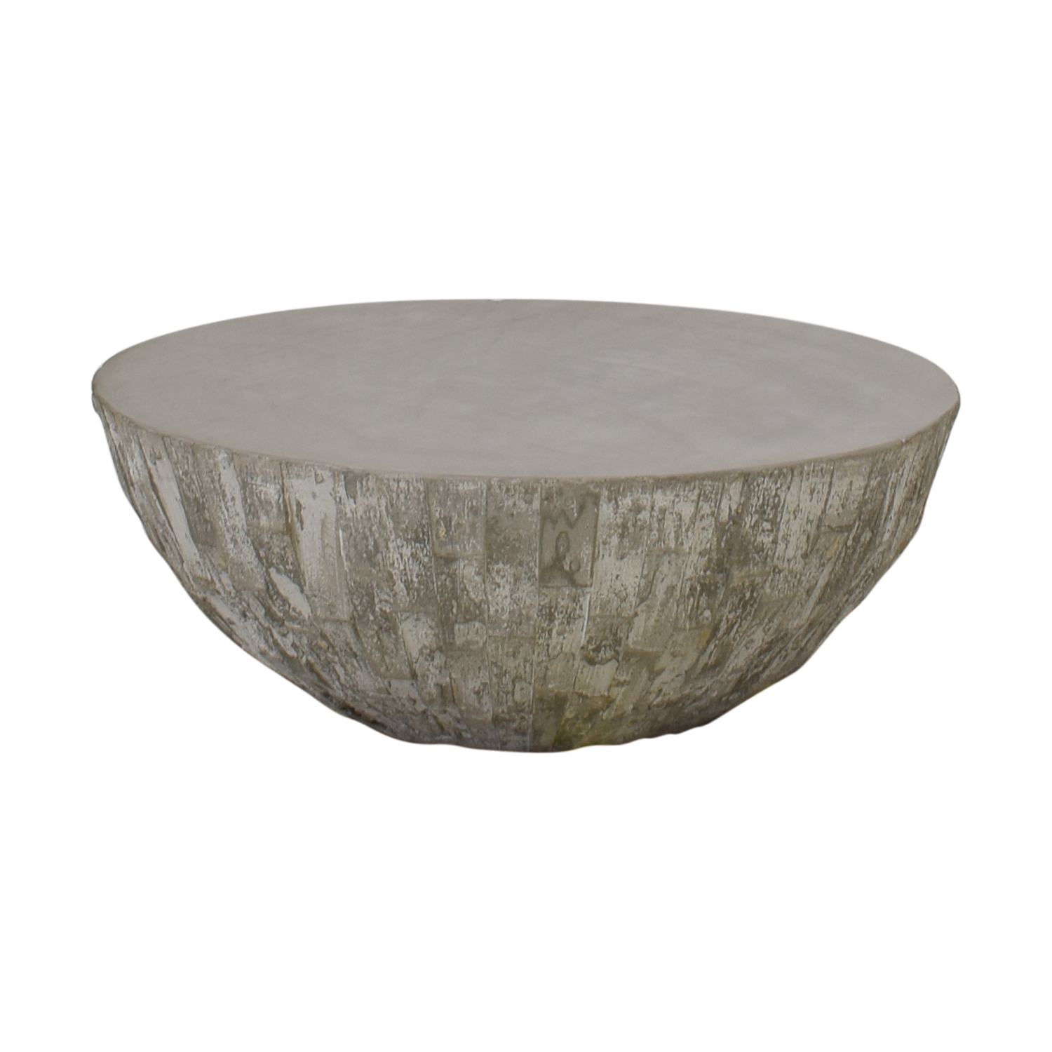 West Elm West Elm Concrete Drum Coffee Table price