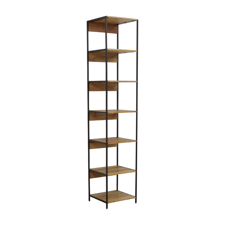 55 Off West Elm West Elm Rustic Industrial Modular Bookshelf Storage