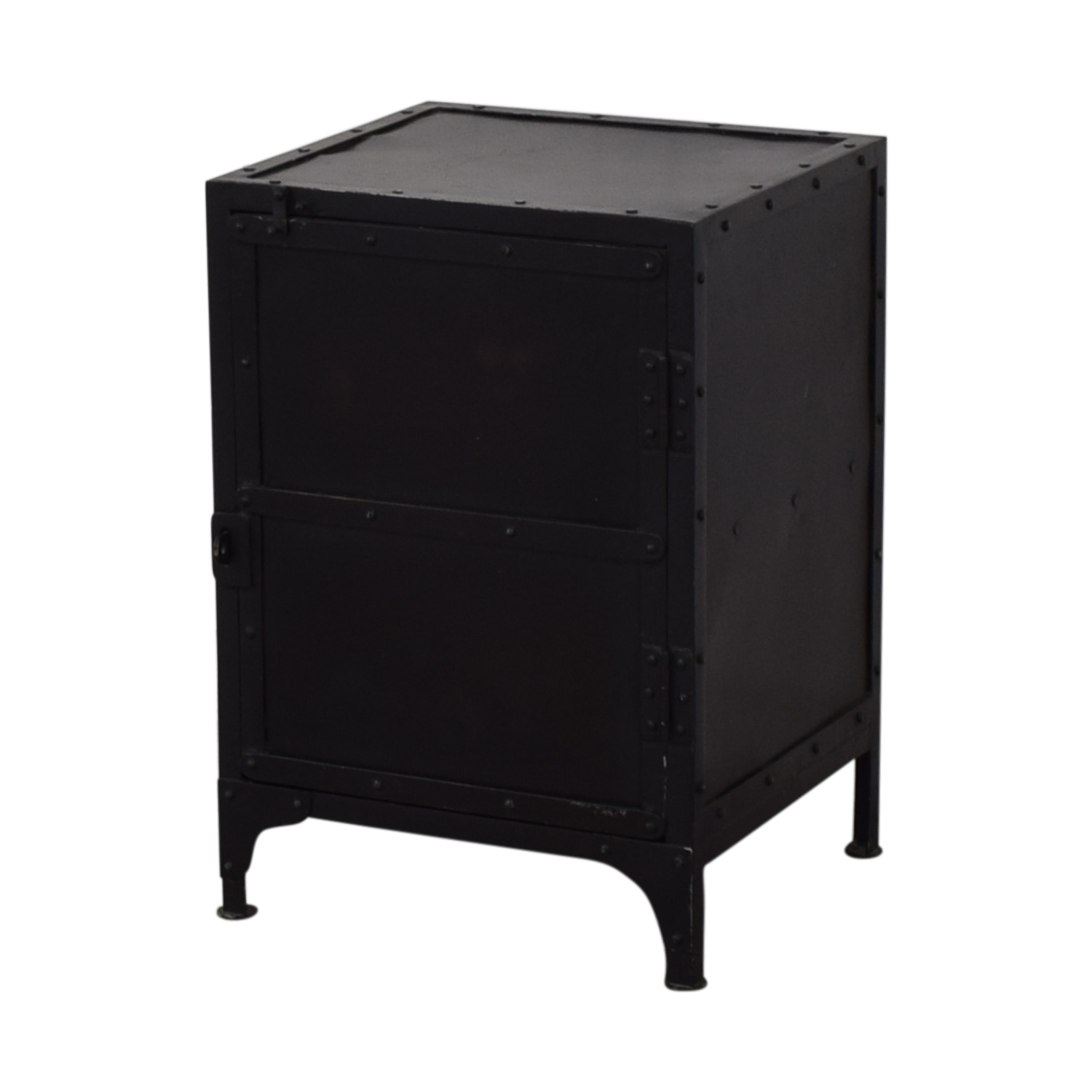 Restoration Hardware Restoration Hardware Industrial Tool Chest Side Table Tables