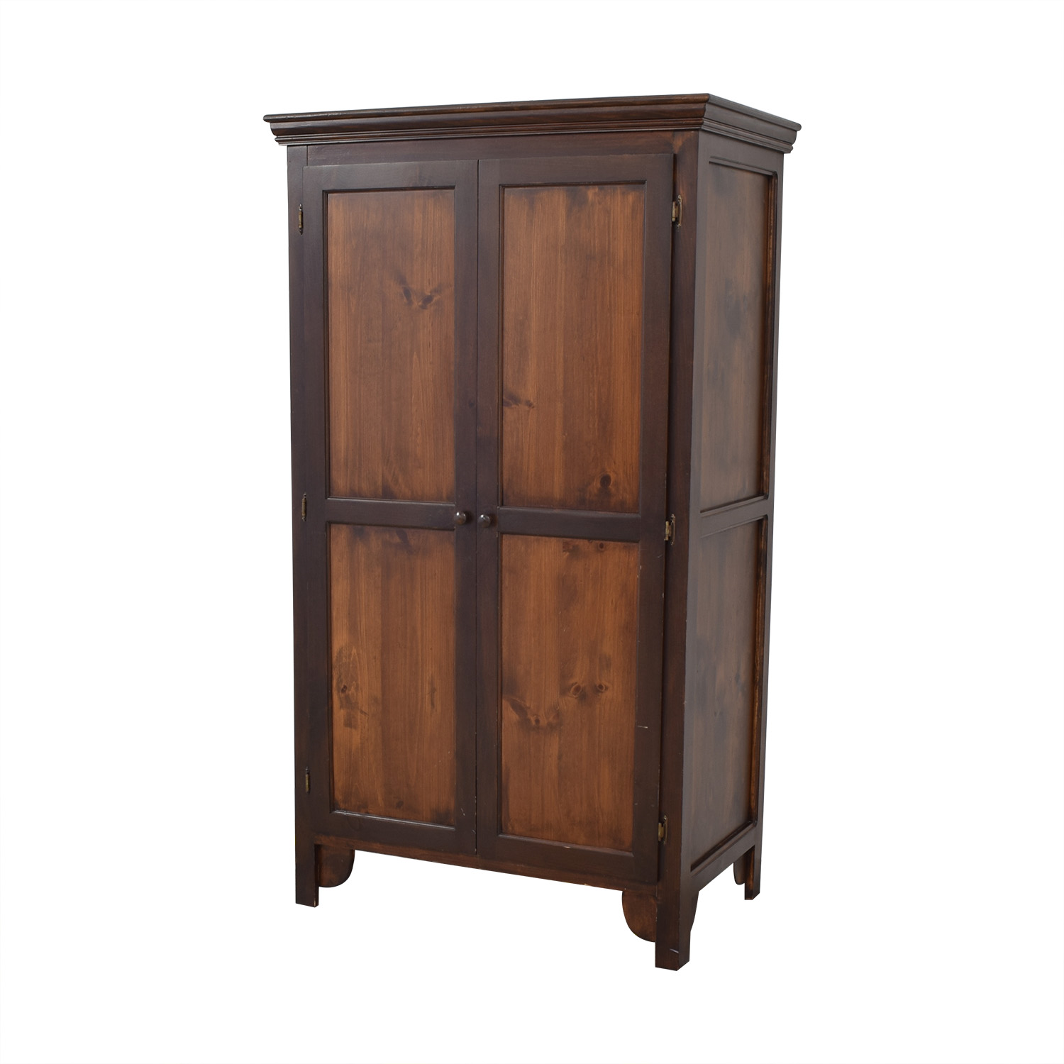 Custom Armoire with Adjustable Shelves sale