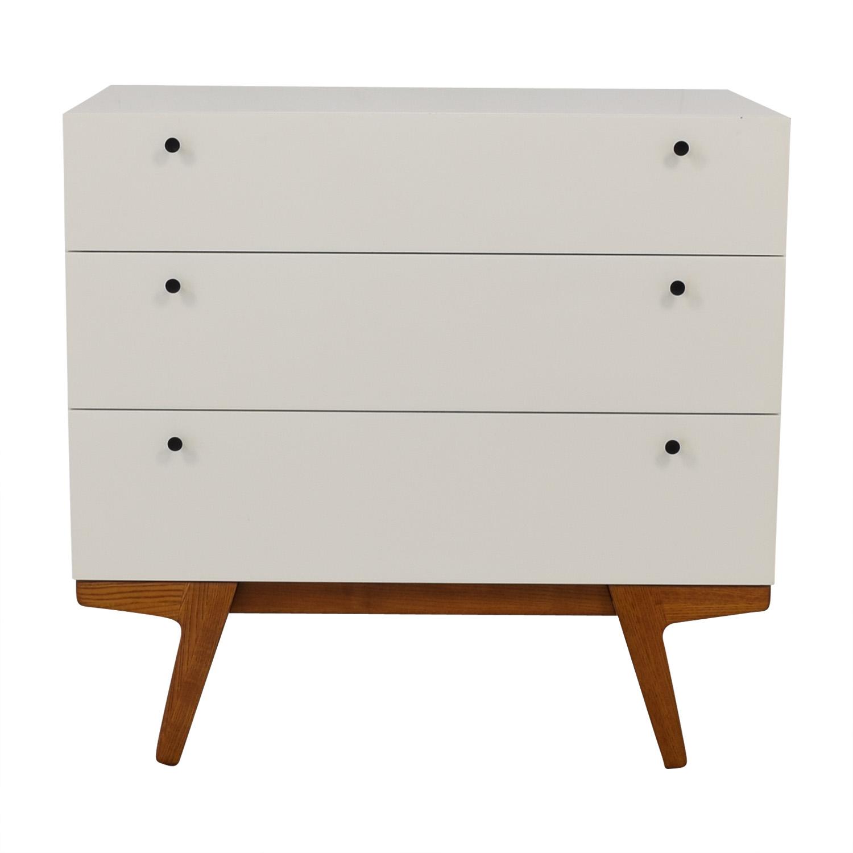 West Elm Modern Three-Drawer Dresser / Dressers