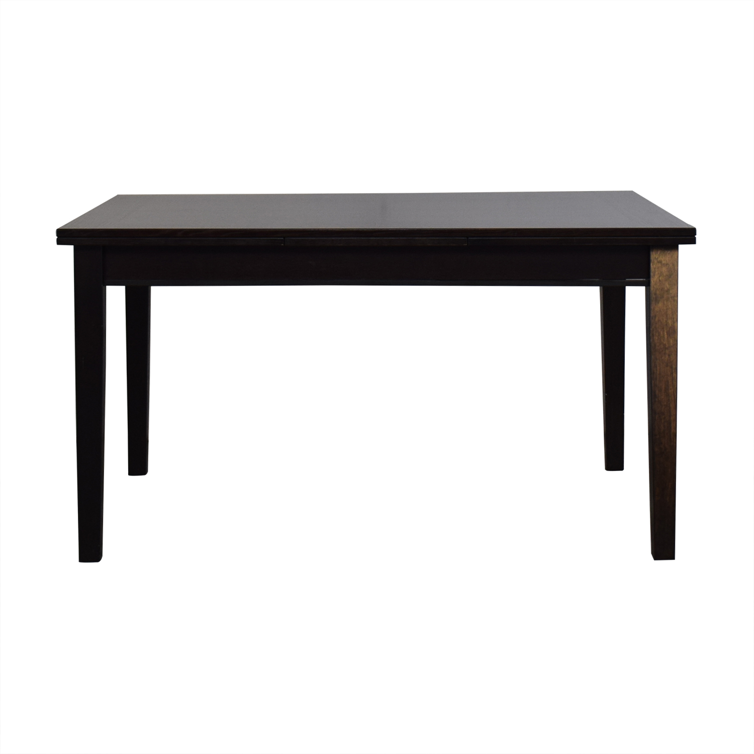 buy Crate & Barrel Pratico Bruno Extension Square Dining Table Crate & Barrel Tables
