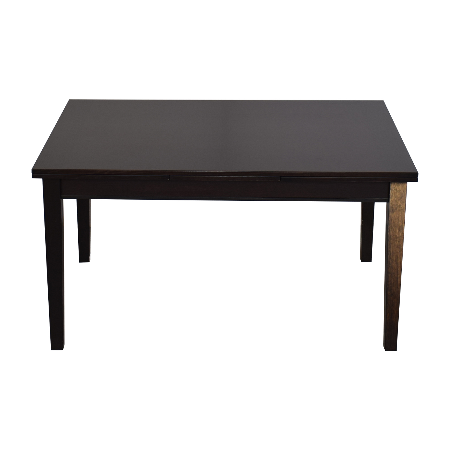 shop Crate & Barrel Pratico Bruno Extension Square Dining Table Crate & Barrel Dinner Tables