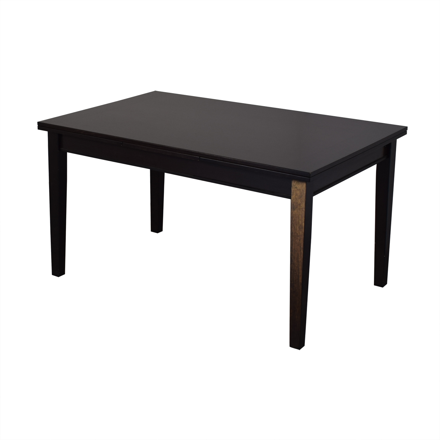 Crate & Barrel Crate & Barrel Pratico Bruno Extension Square Dining Table price