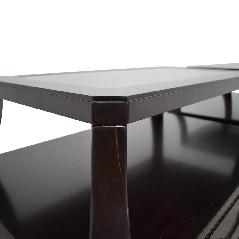 shop Lexington Trevor Tiered Nightstands Lexington Furniture Tables