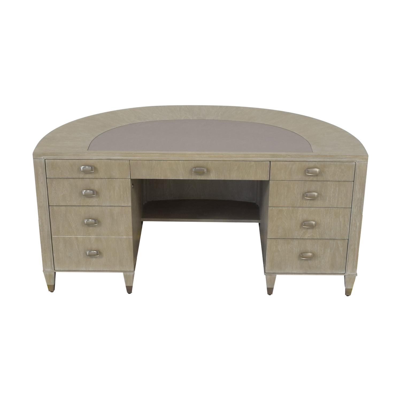Sligh Furniture Sligh Furniture Curved Office Desk on sale