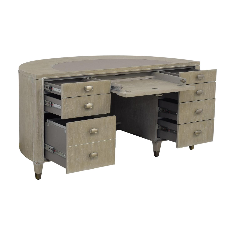 buy Sligh Furniture Curved Office Desk Sligh Furniture