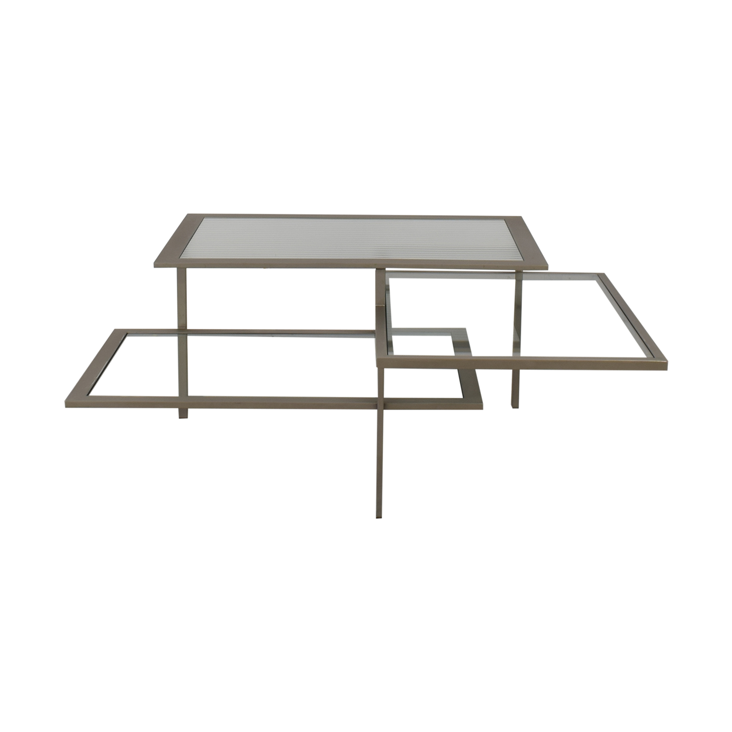 DDC Three Tier Modern Coffee Table nj