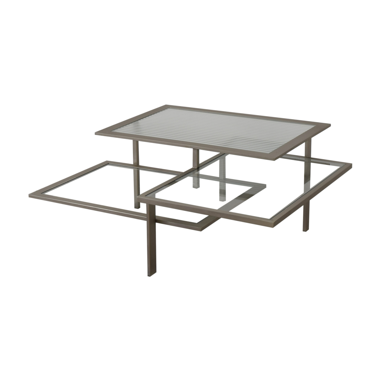 Three Tier Modern Coffee Table sale