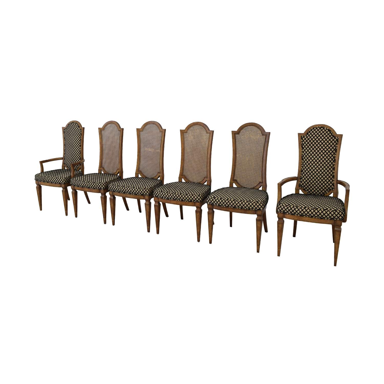 Mastercraft Furniture Mastercraft Furniture Patterned Dining Chairs Chairs
